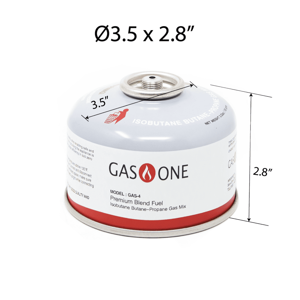 GasOne Camping Stove Fuel Blend Isobutane