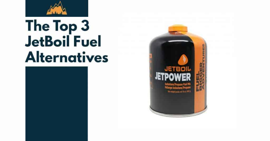 Jetboil Fuel Alternatives