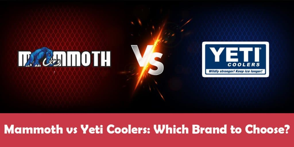 Mammoth Cooler vs Yeti