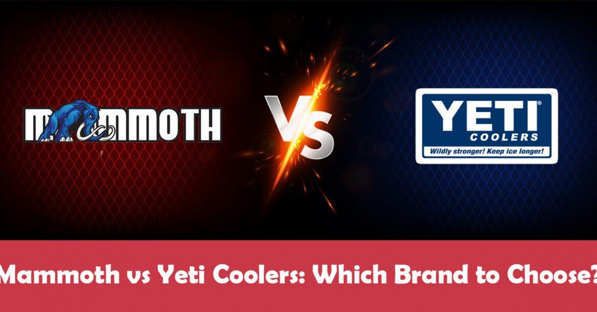 Mammoth Cooler vs Yeti: The Ultimate Showdown
