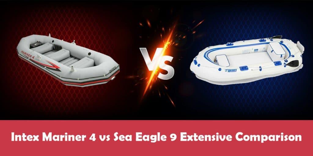 Intex Mariner 4 vs Sea Eagle 9